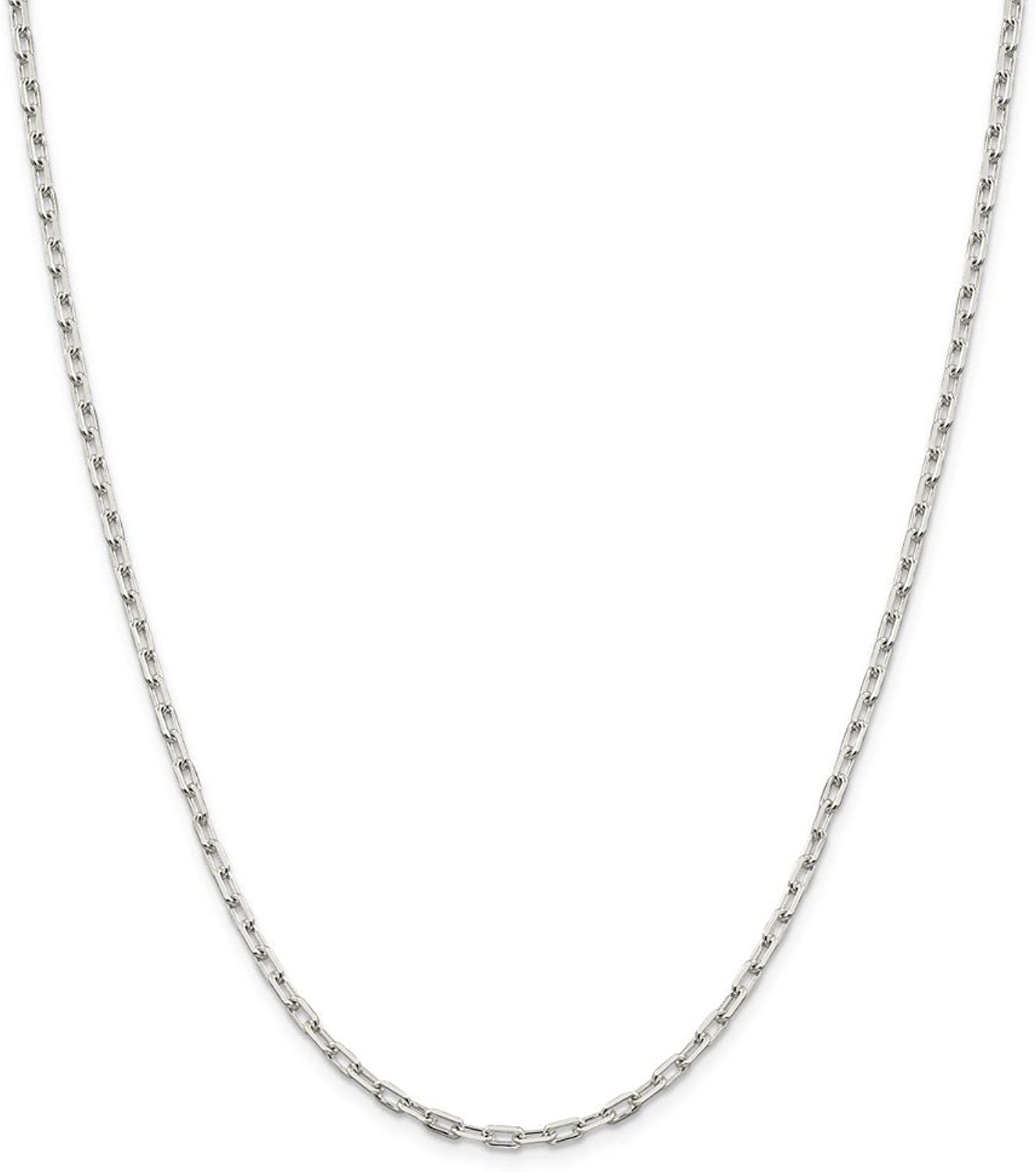 Beautiful Sterling silver 925 sterling Sterling Silver 2.75mm Fancy Link Chain