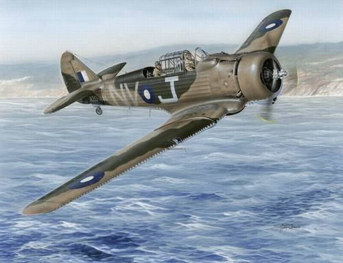 Special Hobby WWII CAC CA9 Wirraway Trainer Aircraft Model Kit (1/72 Scale)