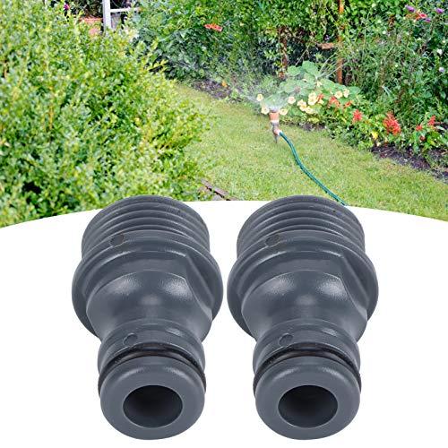 Conector rápido, Boquilla de Grifo Alta confiabilidad Material ABS Fácil de operar Tuberías de Agua de PVC con Buen Flujo de Agua para el hogar y el jardín