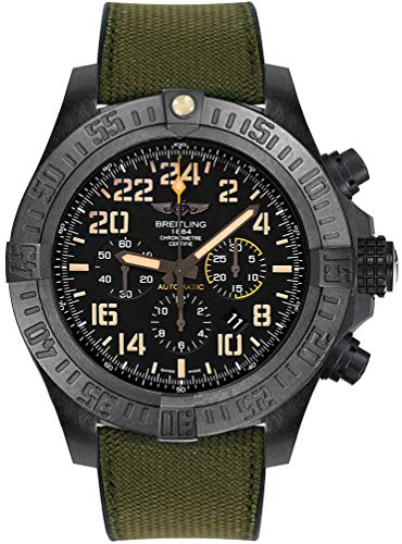 Breitling Avenger huracán Militar Reloj de Hombre Automático xb12101a/bf46–283