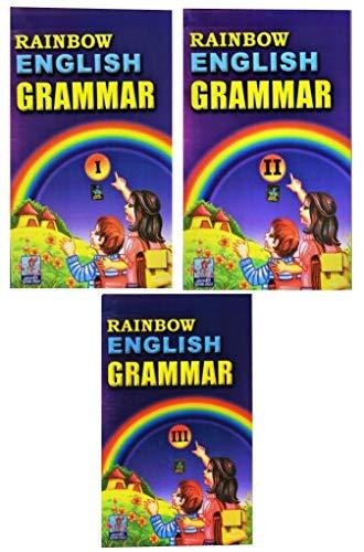 Rainbow English Grammar (Series 1,2&3) (Combo Of 3 Books) (English&Hindi)
