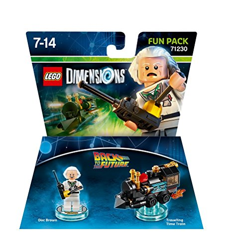 Figurine 'Retour vers le Futur' Pack Héros - Doc Brown : Fun Pack