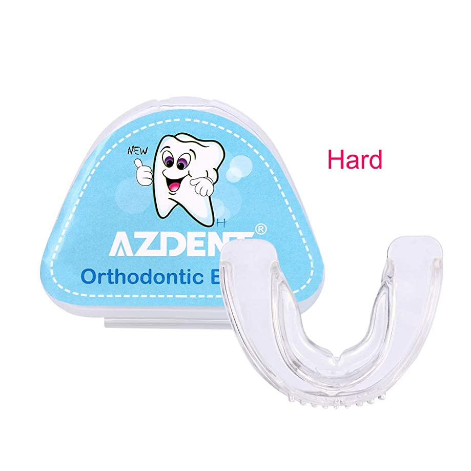 低下屋内後者1対の歯列矯正ブレースを改善し、顔の形を整えます,hard