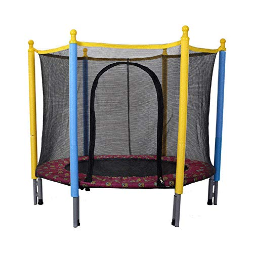 HOTDESIRE Kids Adults Trampoline with Enclosure Net, 3FT Trampoline with Safety Enclosure - Indoor Or Outdoor Trampoline for Kids