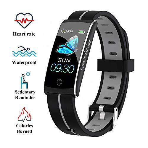 Wysgvazgv Fitness Tracker Orologio Braccialetto Activity Tracker Cardiofrequenzimetro da Polso Monitor del Sonno Pressione Sanguigna IP68 Schermo a Colori Notifiche Android iOS Donna Uomo