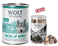 Arctic Spirit Reindeer 24 x 400g Juicy reindeer meat is a source of premium protein. Cranberries and blackberries provide healthy vitamins and minerals The wholesome wet food is similar to the wolf's natural diet. It is well accepted, easy to digest ...