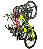 StoreYourBoard Bike Storage Rack, Holds 5 Bicycles, Home and Garage Organizer, Adjustable Wall Hanger Mount