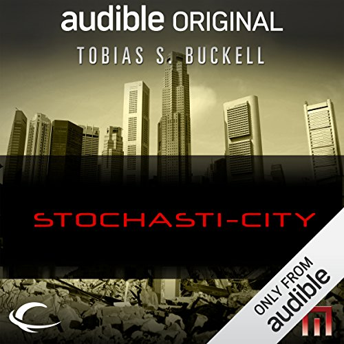 Stochasti-City audiobook cover art