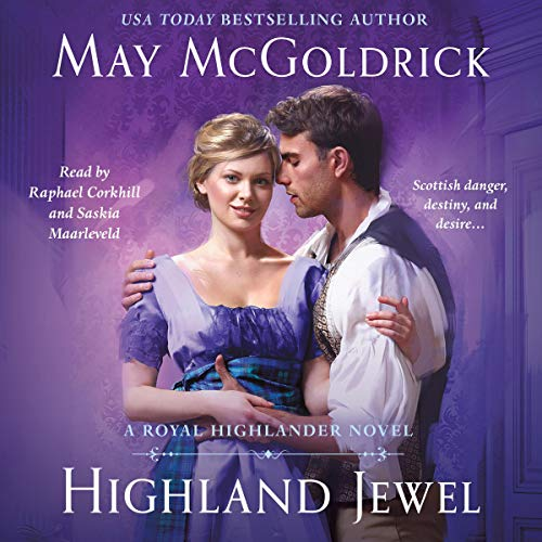 Highland Jewel Audiobook By May McGoldrick cover art