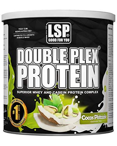 Whey-Casein-Protein DOUBLE PLEX® Cocos Pistazie 750g