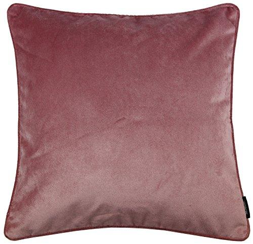 McAlister Textiles Cuscini Arredi per casa in Velluto Cuscini Decorativi in Velluto Lucido || Taglia - Rosa Pallido 40x40cm