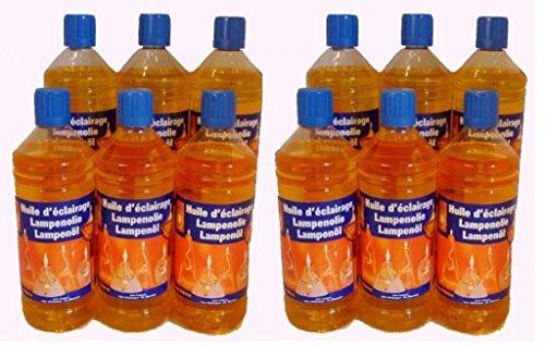Huile de paraffine jaune 12L (12 x 1L)