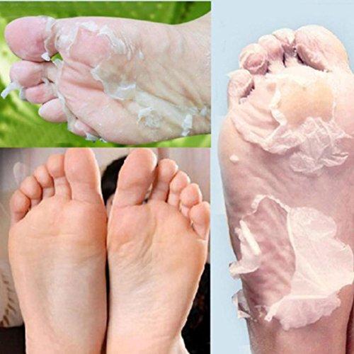 Ouneed Cura del corpo del piede Peeling, 1Pair Peeling Mask Baby Soft Feet per rimuovere Callus Hard Dead Skin