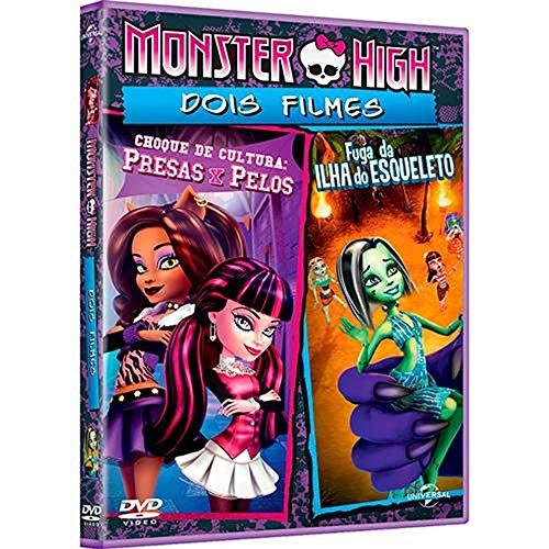 Monster High: Choque De Cultura + Fuga Da Ilha Do Esqueleto