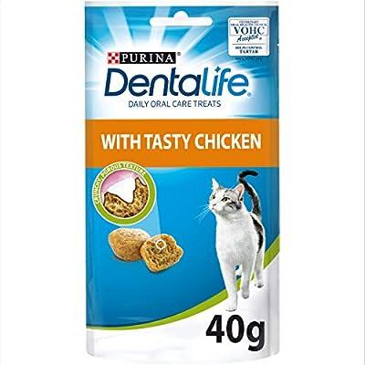 Dentalife Dental Cat Treat, Chicken, 40g