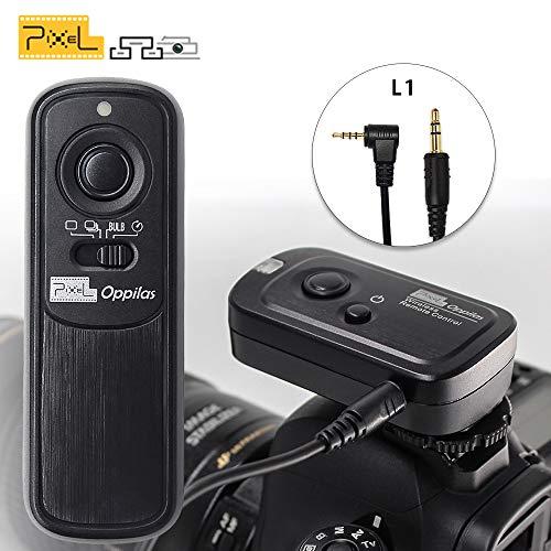PIXEL RW-221/L1 Mando a Distancia Disparador inalámbrico Temporizador Cable Disparador para Panasonic cámaras