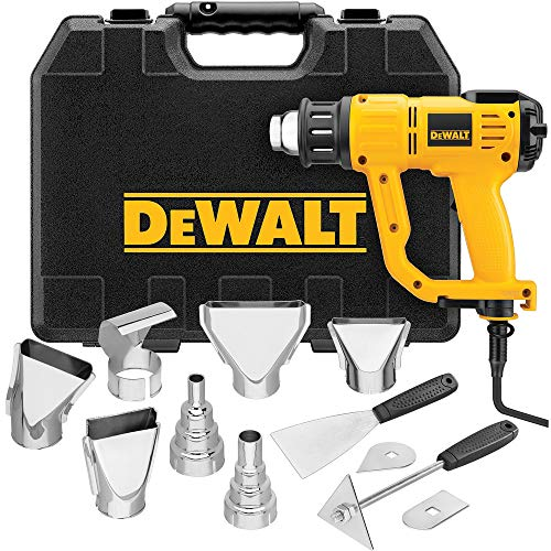 DEWALT Heat Gun with LCD Display & Hard Case/Accessory...