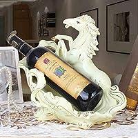 LXD ワインラック、セラミックス馬形モダンクリエイティブワインキャビネットデコレーションリビングルームキッチンレストラン