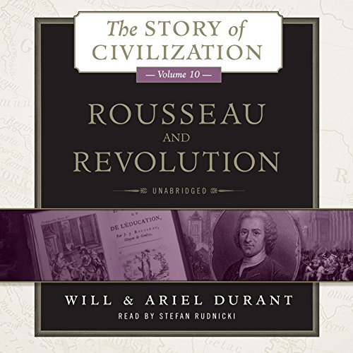 Rousseau and Revolution audiobook cover art