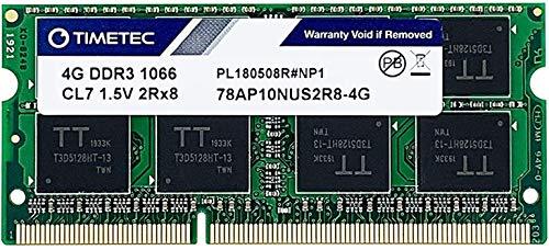 Timetec Hynix IC 4GB Mac用 DDR3 PC3-8500 1066 MHz Apple専用増設メモリ 永久保証 (4 GB)