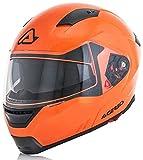 Acerbis Casco Box g-348 Naranja Fluorescente XXL