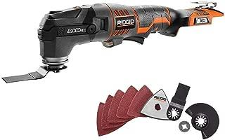 Ridgid JobMax 18V MultiTool w/ToolFree Head (Tool Only) (Renewed)