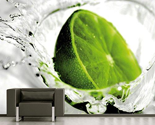 Bilderdepot24 Fototapete selbstklebend | Limette - 225x150 cm