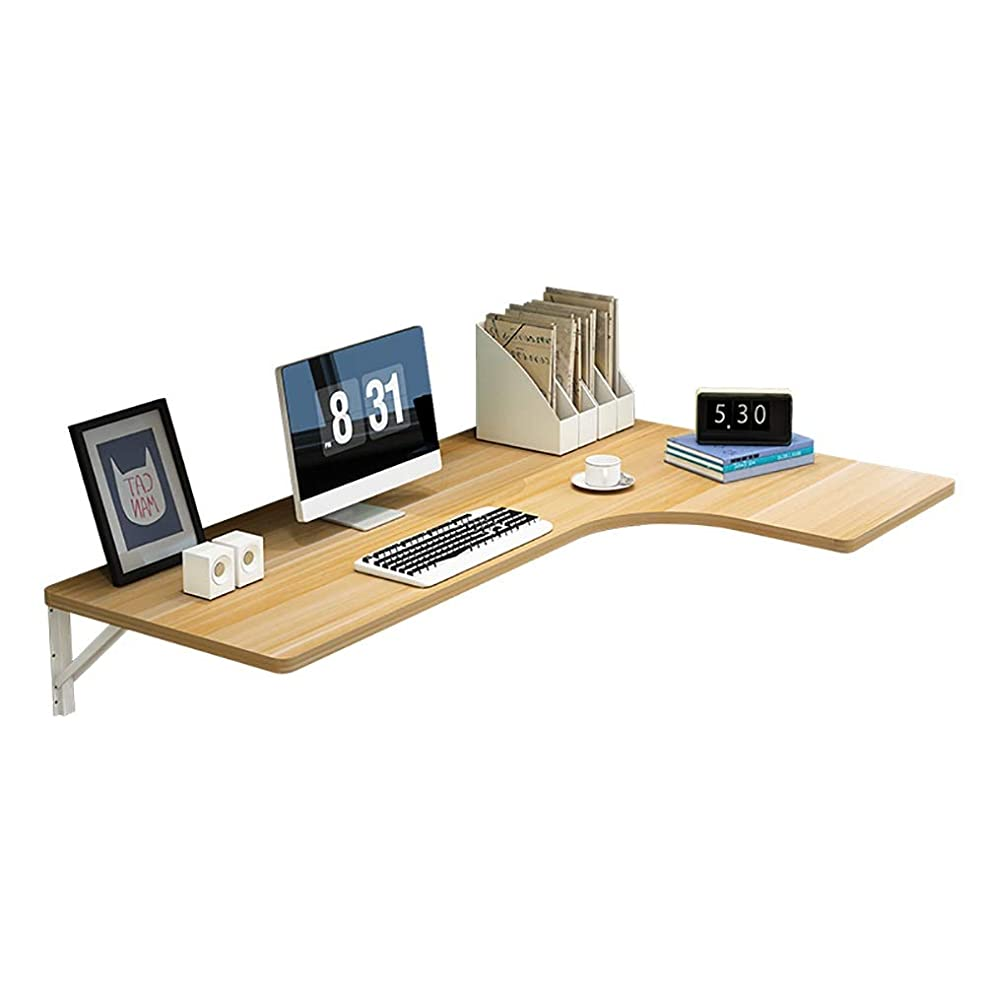 壁掛けテーブル ホームオフィス折りたたみテーブル、壁掛け式ドロップリーフテーブル、コーナーシンプルなフローティングノートパソコンデスク (Size : 70×50×30cm)