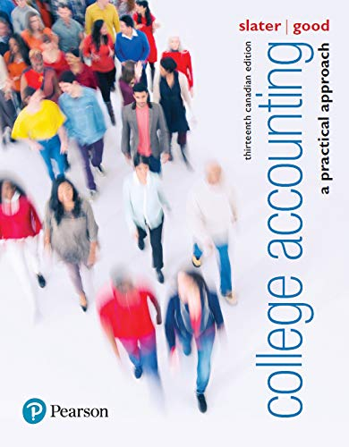 College Accounting: A Practical Approach, Thirteenth Canadian Edition, (2-downloads)