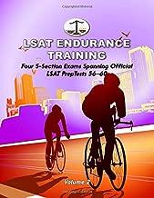 LSAT Endurance Training, Volume 2: Four 5-Section Exams, Spanning Official LSAT PrepTests 56-60 (Cambridge LSAT)