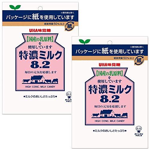 UHA味覚糖 特濃ミルク8.2 88g×2袋