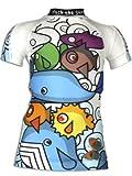 4BB2 Kinder UV Schutz Schwimmshirt Seame -
