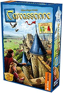 Carcassonne | 2-5 Players | Official Version | English and Arabic Language | Family Game For Ages 7+ | Board Game - Strate...