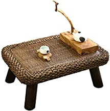 Selected Furniture/Living Room Coffee Table Retro Bay Window Table Rattan Wood Coffee Table Simple Tatami Table Low Table ...
