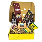 Virtual Pub Gift Box. A Delicious Selection Box Full of Pub Inspired Foodie Gifts. Savoury Snacks, Cheese and Beer. Ultimate Food Gifts for Men Or Women