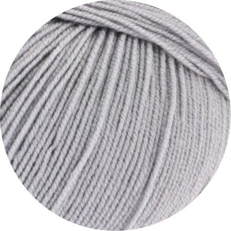 Lana Grossa Cool Wool Baby 241 silbergrau 50g Wolle