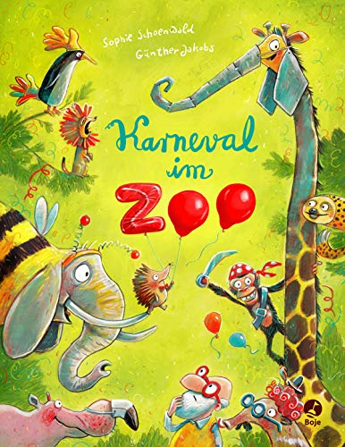 Karneval im Zoo: Band 2 (Ignaz Igel, Band 2)