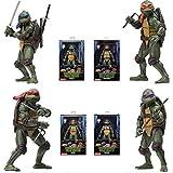 Figura De Acción De Las Tortugas del Ninja Mutante Adolescente (1990) -18cm (Accesorios Completos De Las Articulaciones Móviles)