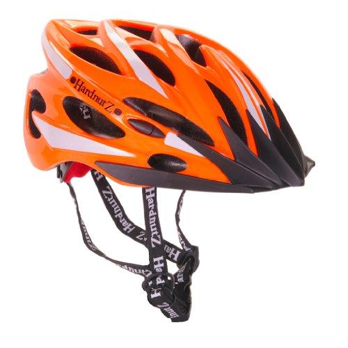 HardnutZ Hi Vis Casque route Haute visibilité Orange Taille 54-61cm