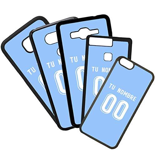 Beschermhoes voor mobiele telefoon, TPU, compatibel met mobiel model, Camiseta van Futbol Celta de Vigo Con El cijfers, verschillende nummers, Iphone SE