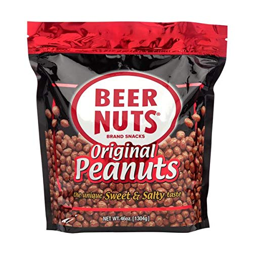 overseas BEER NUTS Original Peanuts Popular products - 46 Sweet oz Sal Bag Resealable and