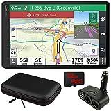 Garmin dezl OTR1000 10' GPS Truck Navigator (010-02315-00) with Accessory Bundle