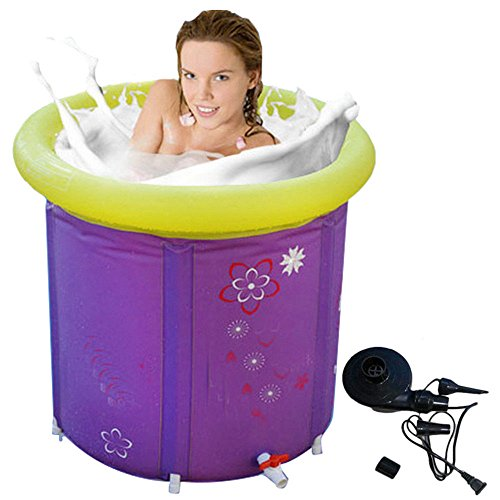 Purchase MBJZ Fold in the bath tub, and adult inflatable purple 7575cm, purple,65x70cm