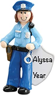 Best police woman christmas ornament Reviews