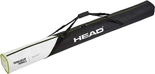 HEAD unisex – vuxna Rebels Single Skibag Skivväska, svart/vit, en storlek