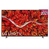 LG 75UP8000-ALEXA 2021-Smart TV 4K UHD 189 cm (75') con Procesador Quad Core, HDR10 Pro, HLG, Sonido Virtual Surround, HDMI 2.0, USB 2.0, Bluetooth 5.0, WiFi