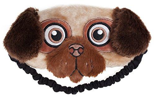 FRINGOO® Schlafmaske, Plüsch, weich, süß, für Reisen, Meditation, Augenmaske, originelle Augenklappe, Augenbinde für die Nacht