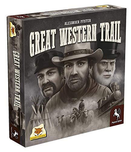 Plan B Games PBGESG50090 Großes Western-Trail Spiel, englische Version