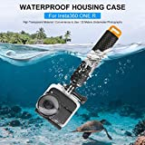 Waterproof Housing Case for Insta360 ONE R 4K (Only Case) - 30Meters Underwater Protective Diving Housing Shell Case | Dive Case Accessories
