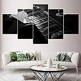 La Guitarra Eléctrica 5 Piezas HD Wallpapers Art Canvas Pri